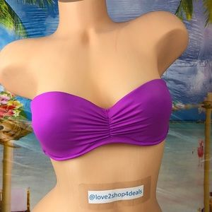 ! Victoria's Secret strapless swim bikini top